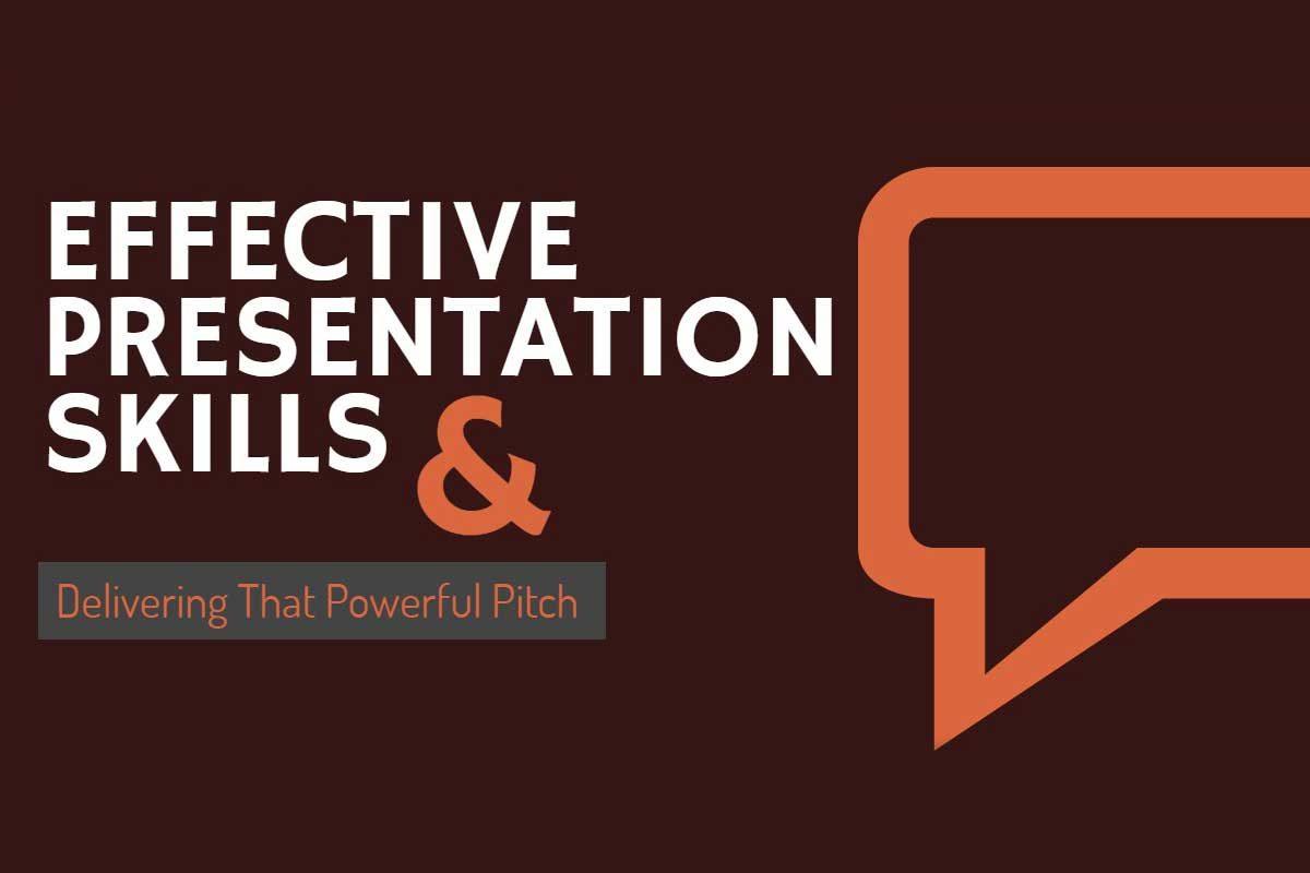 Effective presentation skills banner
