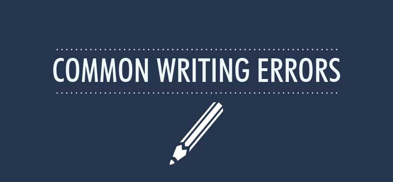 8 Common Writing Errors That Make You Look Unprofessional (Infographic)